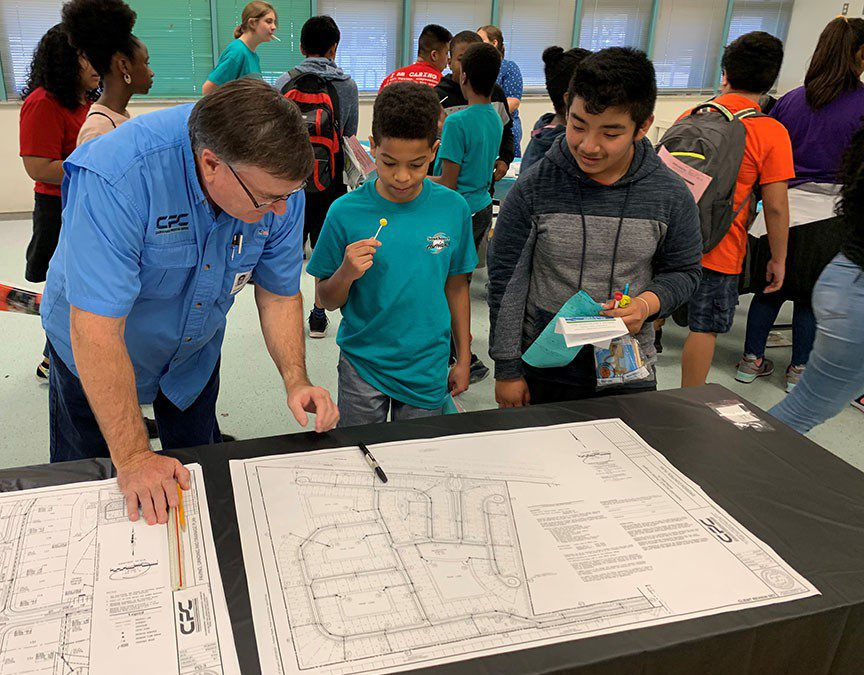Southport Middle School Hosts Career Fair