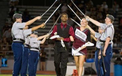 Westwood JROTC Honors Homecoming Court