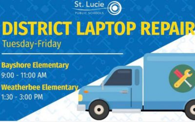 District Laptop Repair Locations: May 26 – May 29