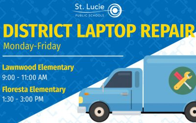 District Laptop Repair Locations: May 18 – 22