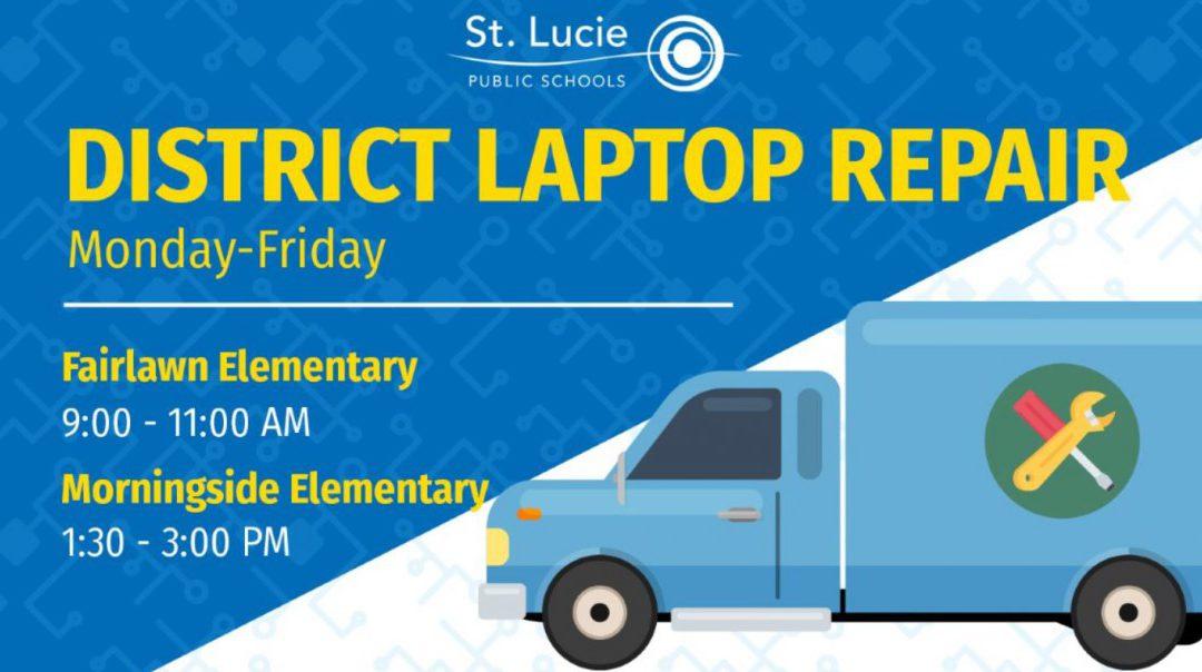District Laptop Repair Locations: May 4 – May 8