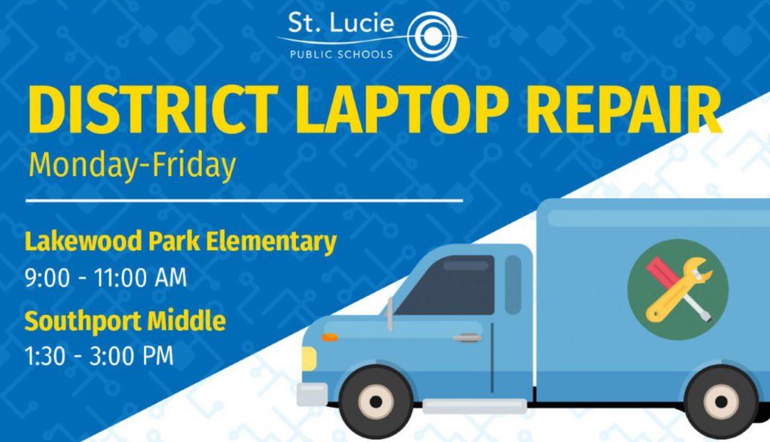 District Laptop Repair Locations 4/20-4/24