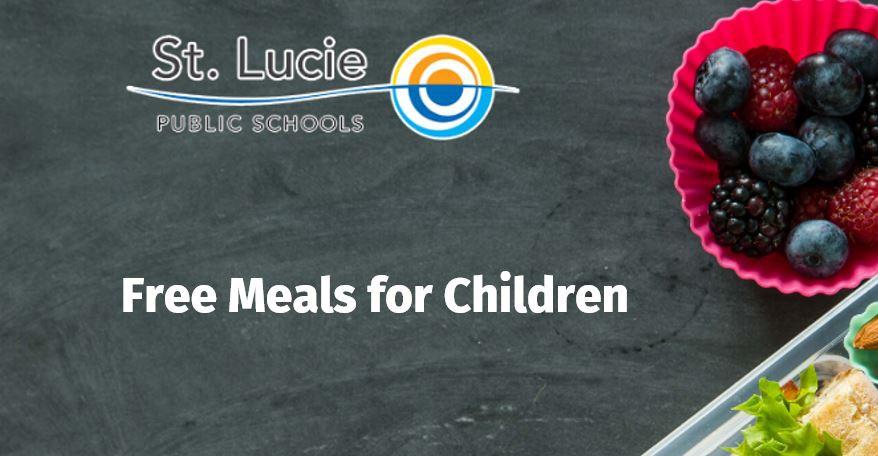 St. Lucie Public Schools Announces Summer Meal Sites