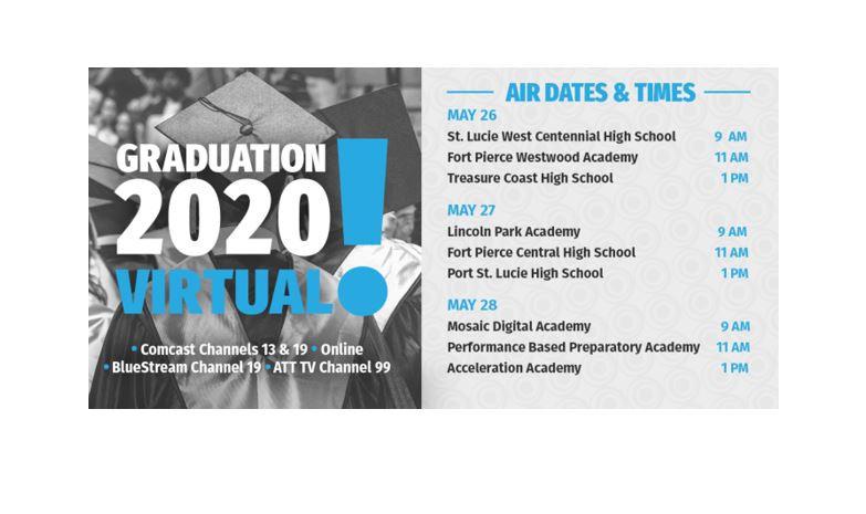 Virtual Graduations Air This Week!